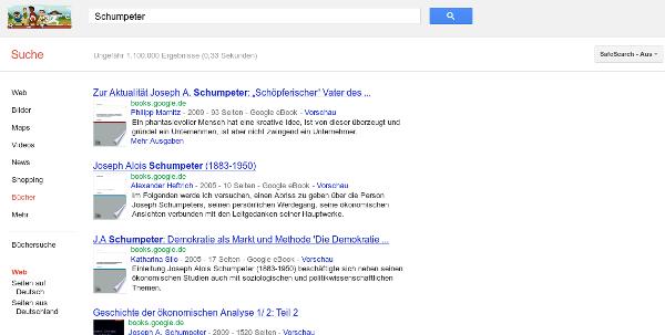 Screenshot Google Books