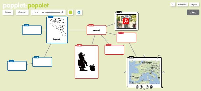 Screenshot popplet